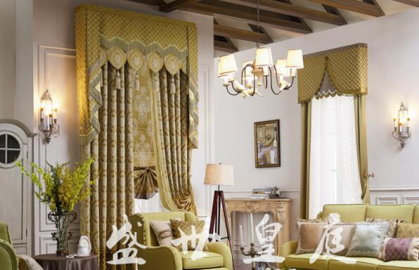 法式风格窗帘