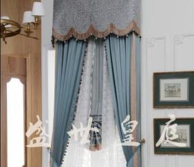 四川窗帘中式风格